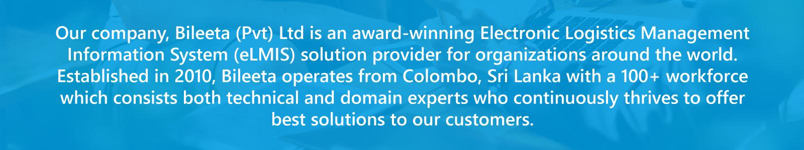 Award Winning Electronics Logistics Management Information System