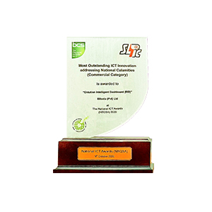 Bileeta's COVID-19 Intelligence Dashboard won the Special Award for the Most Outstanding ICT Innovation Addressing National Calamities (Commercial Category)