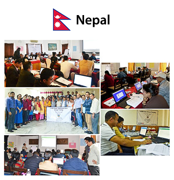 Vaccine information management system implemented in Nepal by Bileeta